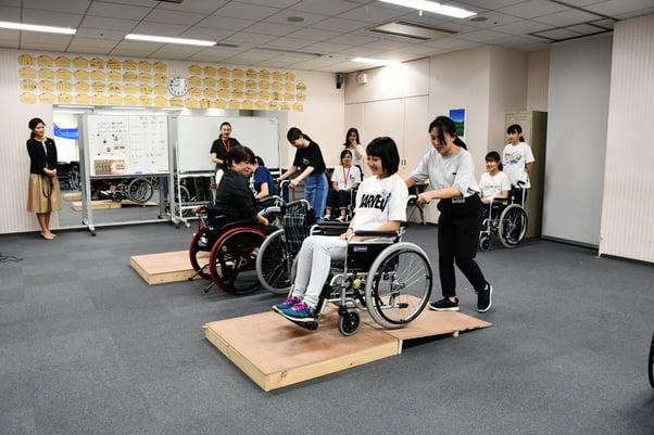 Wheelchair Practical Training